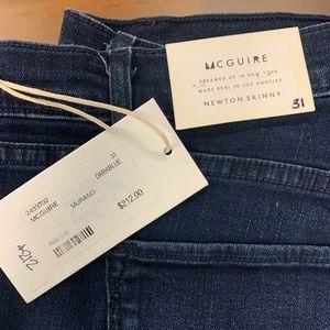 McGuire Denim Newton Skinny Jean, Reposado dk blue